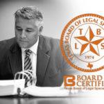 Board Certified DWI Lawyer Tad A Nelson